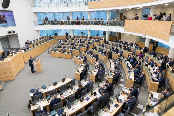 Dundulis: mažinkime Seimo narių skaičių iki 71 ir imkimės griežtų reformų