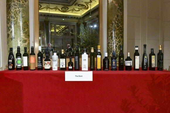 Italijos sostinėje Romoje išdalyti Alyvuogių aliejaus Oskarai