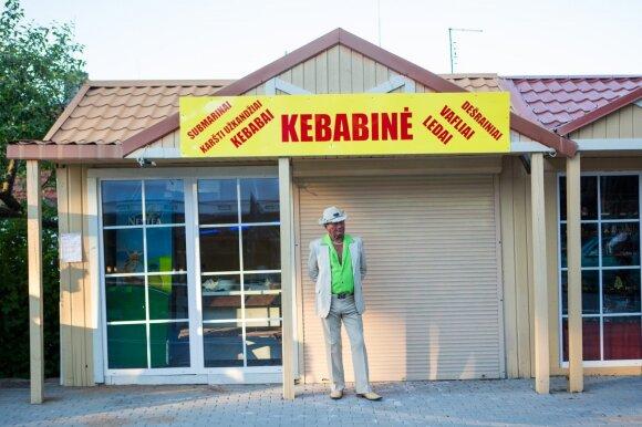 Kebabinėms atėjo sunkūs laikai