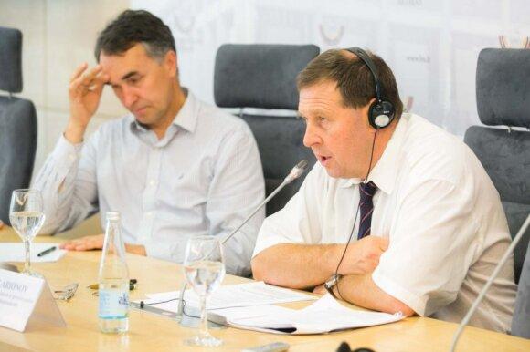 Petras Auštrevičius ir Andrejus Illarionovas
