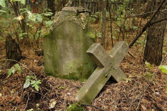 Литовское кладбище в Иркутске