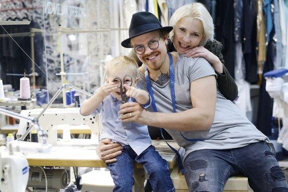 Atviras interviu su dizaineriu Robertu Kalinkinu: vaiko laukėme 4 metus