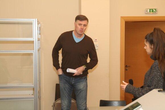 Darius Dimavičius teisme