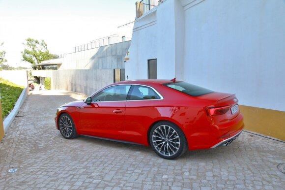 """""""Audi S5 Coupe"""" – automobilis vairuotojui"""
