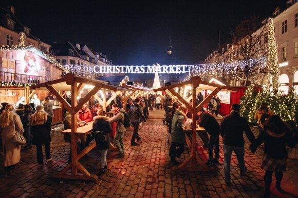 Kalėdinė nuotaika Švedijoje