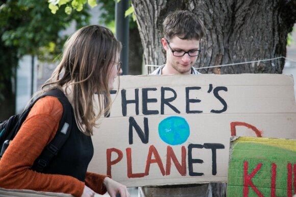 Eurokomisaras Sinkevičius: kovodami su klimato kaita privalėsime keisti gyvenimo būdą