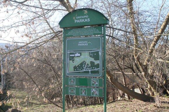 Gričiupio parkas Kaune