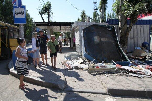 M. Ivaškevičius. Donbaso žmonės. Man jų negaila