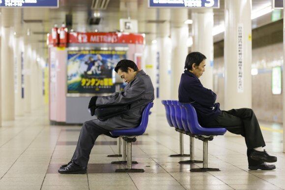 Miegantis japonas
