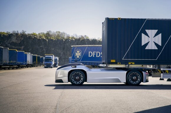 Vera autonominis sunkvežimis / Volvo nuotr.