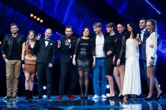 """Pirmasis """"Eurovizijos"""" dalyviu dešimtukas"""