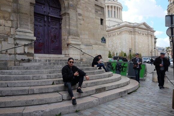 Lietuvis Paryžiuje apkeliavo vietas, kurias visi žino iš filmų: realybė pranoko lūkesčius