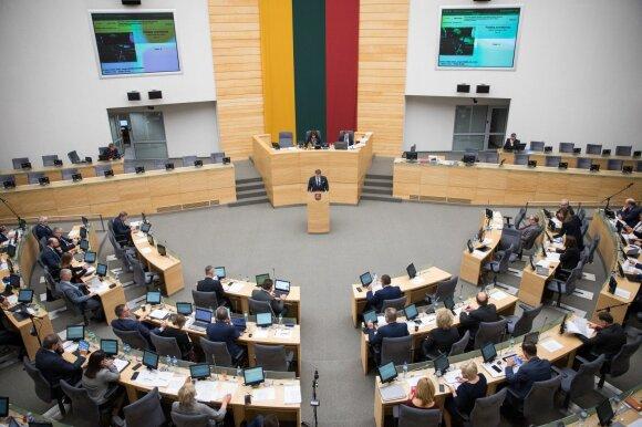 Aušrinė Armonaitė: Seimo narių skaičius atitinka tarptautinę formulę net ir sumažėjus gyventojų skaičiui