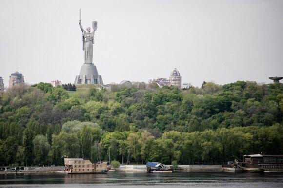 Kijevas, Motinos Tėvynės statula