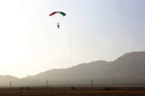 Šuolis su parašiutu