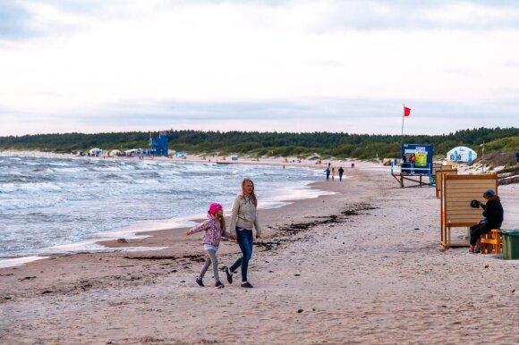 Этот курорт – единственный на всю Литву: в радиусе нескольких километров можно найти все мыслимые развлечения