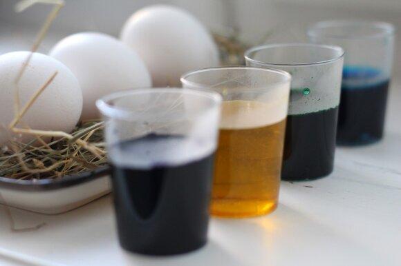 DELFI išbando: neįprastas kiaušinių marginimas plakta grietinėle