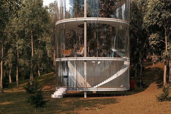 Šis būstas įrodo, kad ir namelyje medyje galima gyventi stilingai