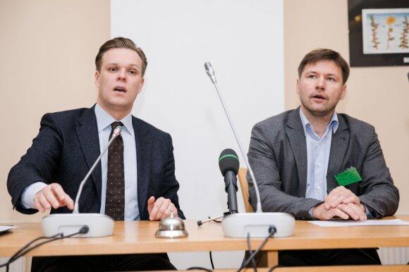 Gabrielius Landsbergis, Andrius Navickas