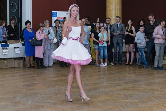 Czech fashion in Vilnius  Photo © Ludo Segers @ The Lithuania Tribune