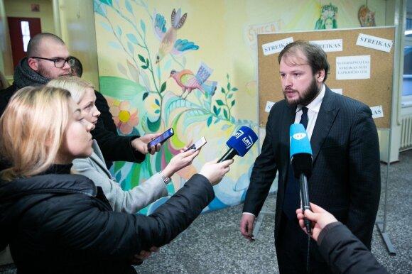 Švietimo ir mokslo ministrės patarėjas Arminas Varanauskas