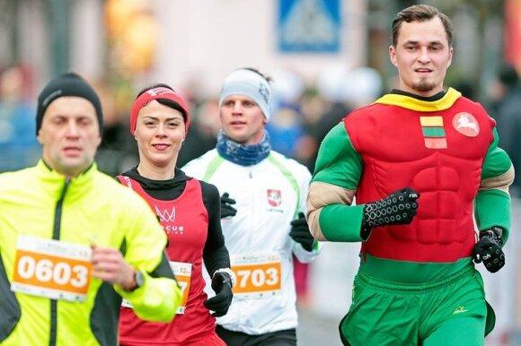 Superherojus kalėdiniame bėgime