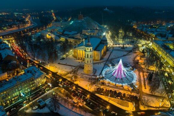 """""""New York Post"""" gruodį rekomenduoja aplankyti magiškiausią Kalėdų sostinę – Vilnių"""