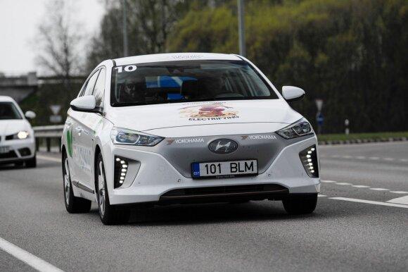 Lietuvoje rengiamos elektromobilių lenktynės