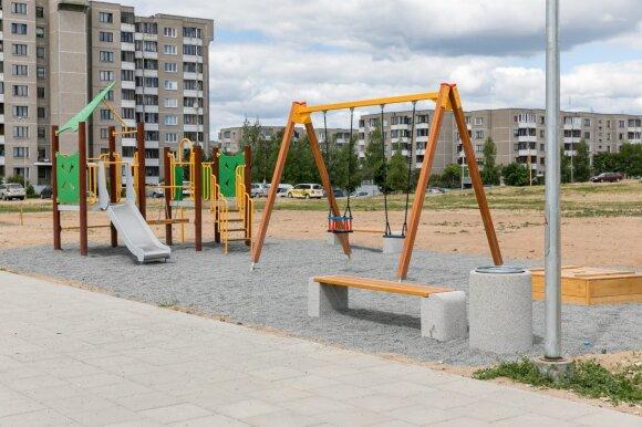 Atnaujintos Vilniaus viešosios erdvės