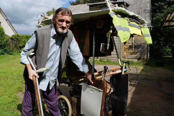 Profesinė liga baigėsi kankinimo prietaisą primenančiame vežimėlyje