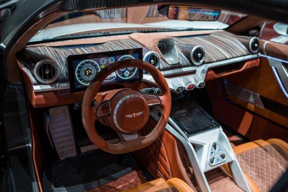 """Po 50 metų atgimę """"Hispano-Suiza"""" pristatė keistą automobilį – tokio dar nesate matę"""