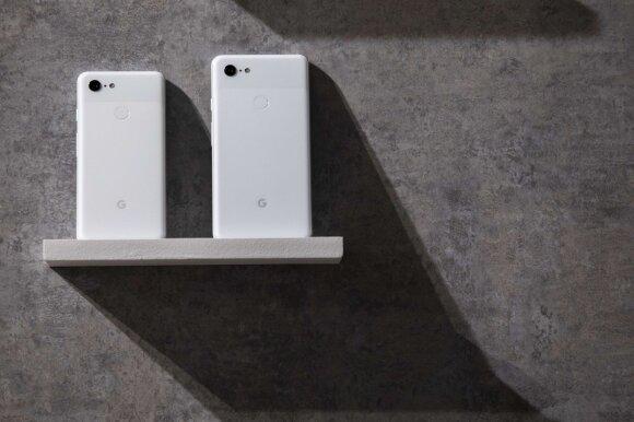 Pristatyti Google Pixel 3 ir Pixel 3 XL
