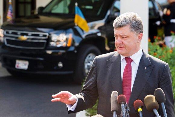 President Poroshenko  at the  White House. Photo Ludo Segers