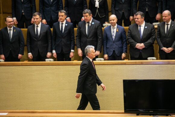Nausėdos pasiūlytos Žvalgybos įstatymo pataisos Seimo dar nepasieks