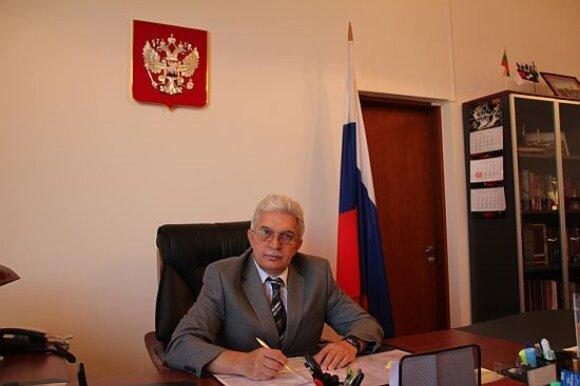 Генеральный консул Российской Федерации в Клайпеде Александр ГрачевГРАЧЕВ АЛЕКСАНДР ГЕОРГИЕВИЧ