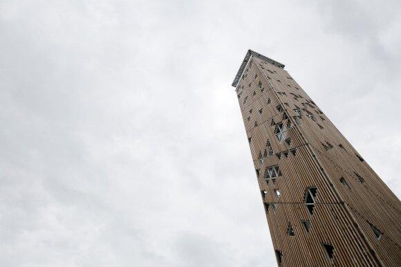 Birštono apžvalgos bokšto atidarymas