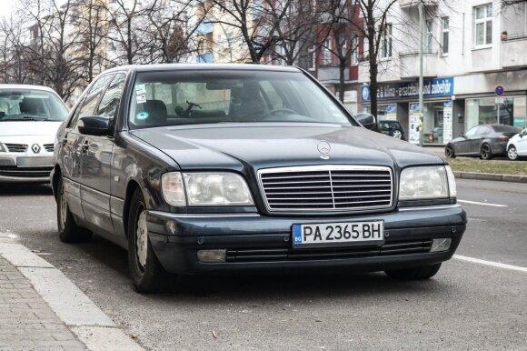 """Mercedes-Benz S W140"" – Banginis. Princeps/Flickr nuotr."
