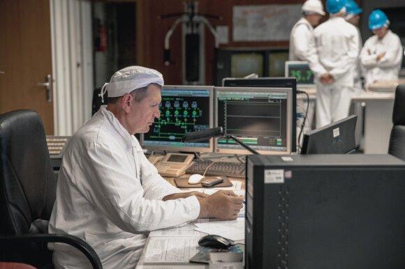 Ignalinos atominės elektrinės darbuotojas