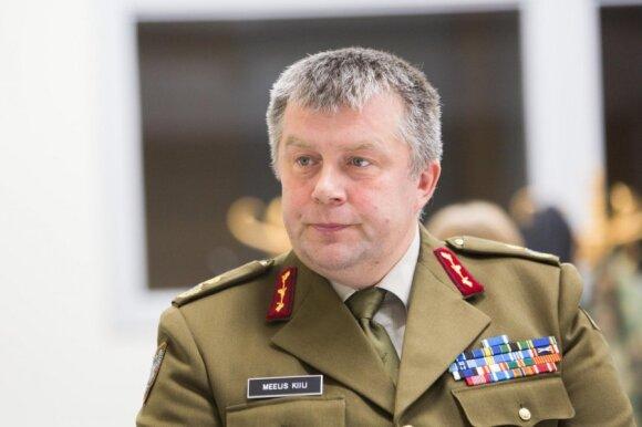 Estijos generolas: savo piliečiams patikime namuose laikyti ir granatsvaidžius