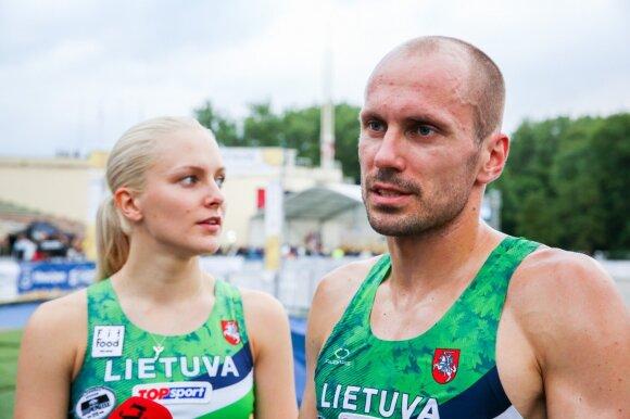Ieva Serapinaitė, Justinas Kinderis