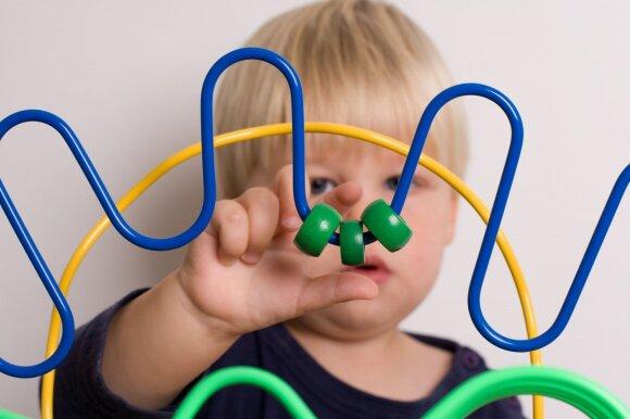Kodėl reikia vaikui lavinti smulkiąją motoriką
