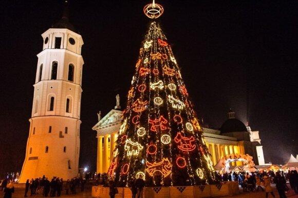 Kodėl žiemos šventes reikia sutikti Vilniuje