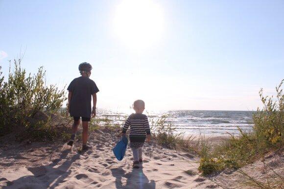 Inga šeimai paruošė neįtikėtiną atostogų siurprizą: žinojo, kad teks minti dviračius, bet nė neįtarė, kur tai darys