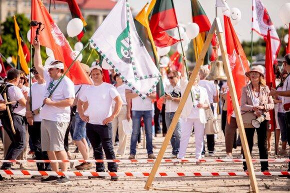 Fausta Marija Leščiauskaitė. Maršiečiai, ar norite gyventi kaip Baltarusijoje?