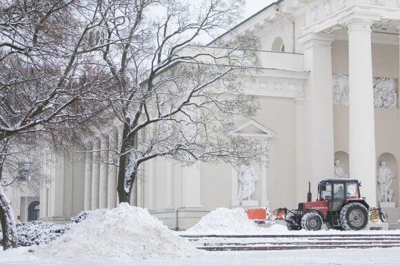Kodėl druska karaliauja Lietuvos miestų gatvėse