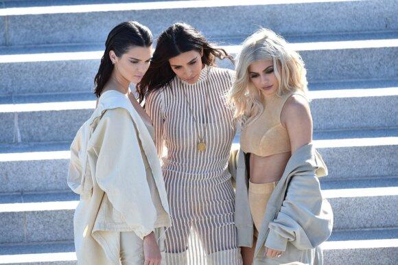 Kendall Jenner, Kim Kardashian ir Kylie Jenner