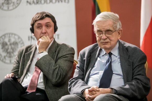 Prof. Marek Kornet ir prof. Tomas Venclova