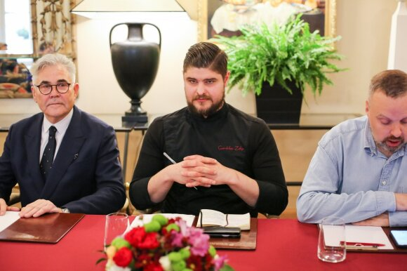 """Naujasis """"Relais & Châteaux Stikliai Hotel"""" šefas Gerdvilas Žalys"""