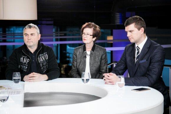 Raimondas Kuodis, Birutė Visokavičienė, Žilvinas Šilėnas