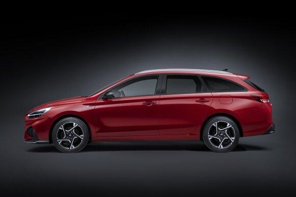 """Naujasis """"Hyundai i30"""" universalas"""
